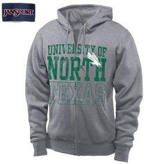 UNT Zipfront hoodie