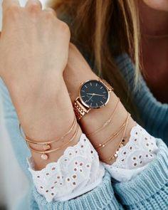 Trendy Watches, Elegant Watches, Amazing Watches, Beautiful Watches, Rolex Women, Trends, Fashion Watches, Women's Accessories, Jewerly