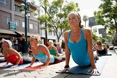 yogi-ing :)