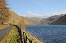 Talla Reservoir South of the Church at Tweedsmuir River Bank, Biking, Travel Guide, Places Ive Been, Scotland, Wanderlust, England, Country Roads, Explore