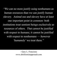 Slavery ~ Gary L. Francione