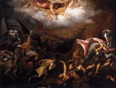 Conversion of St. Paul.  By Andrea Schiavone