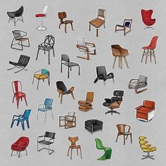 I put together a collection of my Month of Chairs Drawings. Ultimately, my goal is to have a collection of these collections. #collectseption . . . . #idsketching #industrialdesign #furniture #furnituredesign #design #product #productdesign #render #art #instaart #draw #drawing #sketch #sketching #sketchbook #designsketching #chair #copic #sharpie #artoftheday #collection