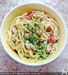 Spaghetti - Thunfisch - Salat