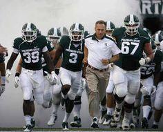 List: Matt Morrissey verbal launches Michigan State football recruiting into Top 25 Michigan State Football, Michigan State University, College Football, Football Recruiting, Msu Spartans, Football Program, American Football, Football Helmets