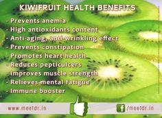 Health Benefits Of Kiwifruits:: www.meetdr.in  #Kiwi #fruit #healthy #fit #healthyfood #healthyfruit