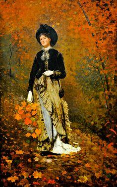Winslow Homer - Autumn at National Art Gallery Washington DC