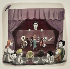 Cute with a touch of creepy... I love it!