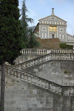 Basilica di San Miniato al Monte | The church of San Miniato… | Flickr