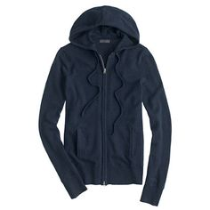 J.Crew - Collection cashmere zip-front hoodie
