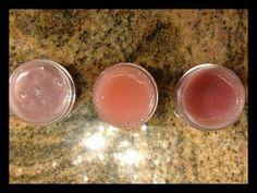 DIY tinted, flavored lip balm