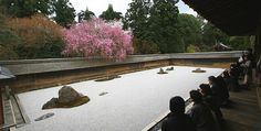 yoanji Temple is the site of Japan's most famous rock garden, Kyoto