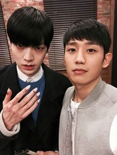 "Jung Hae-In and scary vampire  Ahn Jae Hyun ... ""BLOOD"""