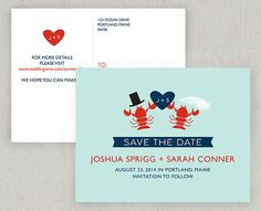Great idea for a Save the Date, but with a medical theme. And they ...