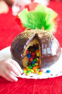 Cupcakes a diario: Nuestra Mona-piñata... Lunes de Pascua, misión cumplida!!!