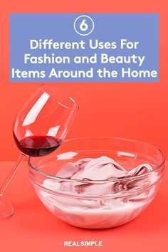 6 Fashion and Beauty Hacks | These are some of the best and most clever uses for common items around your home that can do double duty—serving more than just their original purposes. From tights that act as a strainer to a brilliant new use for old buttons, these fashion- and beauty-related problem solvers will make your life a little bit easier. #beautytips #realsimple #skincare #makeuphacks #bestmakeup Real Simple Magazine, Best Makeup Products, Makeup Tips, Life Hacks, Fashion Beauty, Beauty Hacks, Clever, Tights, Skincare