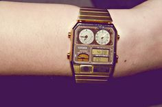 men's watch; unfortunately without a flux capacitor