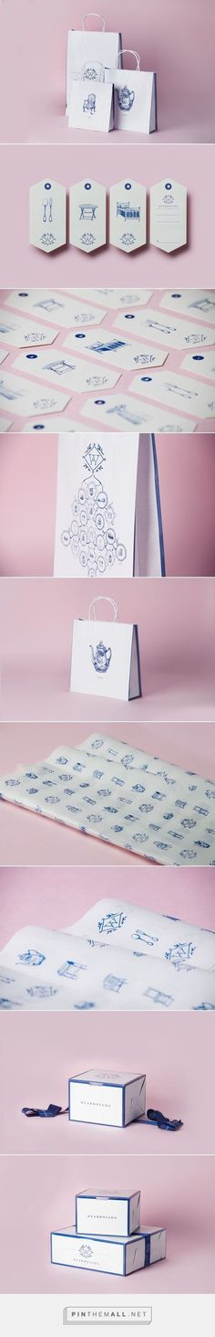 (36) Gorgeous and unique brand identity. Dearboleda | Siegenthaler &Co | Inspiring: Branding | Pinterest / Branding / Ideas / Inspiration / Brand / Design / Furniture / Shop / Antique / Handmade / Delicate / Porcelain / Draw / Stamp / Monogram / Tea Pot / Chair