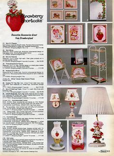 Sweet Memories, Childhood Memories, Strawberry Pictures, Tv Tray Set, Vintage Strawberry Shortcake Dolls, Toy Catalogs, Christmas Catalogs, Patch Kids, Vintage Dolls