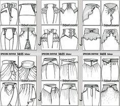 ОЧЕНЬ много идей для юбок