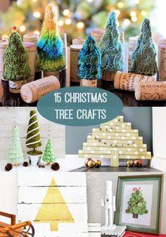 15 Unique DIY Christmas Tree Projects - diycandy.com