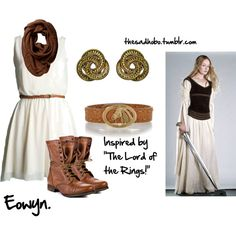 Eowyn inspired fashion!, created by erfquake on Polyvore