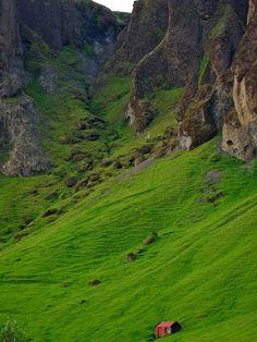 South Iceland near Skaftafell National Park