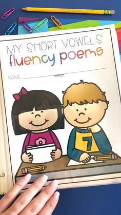 Right before we launched our No Prep Phonics Booklets. We decided to create Phonics-Based POETRY! Phonics Reading, Teaching Phonics, Kindergarten Reading, Kindergarten Activities, How To Teach Phonics, Reading Comprehension, Phonics Lessons, Phonics Worksheets, Phonics Rhymes