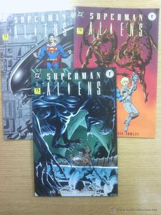 SUPERMAN ALIENS COLECCION COMPLETA (3 TOMOS) $11