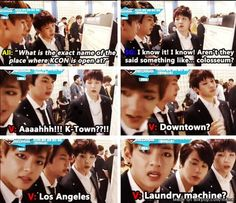 dont ask them.. especially taehyung | laundry machine???? Where did he get that from?!?!?!