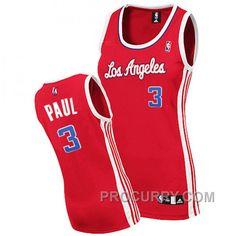 b5e866318973 Chris Paul Los Angeles Clippers  3 Swingman Women Red Jersey