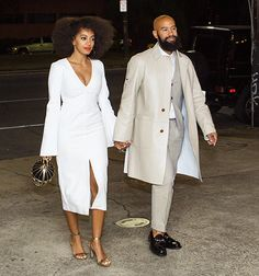 NOLA Style: Solange Knowles and her fiancé, Alan Ferguson  Photo Credit: Josh Brasted/GC Images