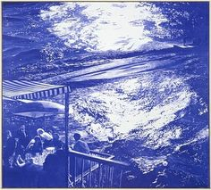 Mark Tansey Sea Change, 2005  Oil on canvas  84 x 60 inches  Follow #MarkTansey Pins on Pinterest, curated by Joseph K. Levene Fine Art, Ltd. | JKLFA.com | http://pinterest.com/jklfa/mark-tansey/