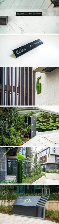 Signage System QingShanPark on Behance