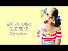 Melanie Martinez - Next Time It Rains/Blue Knees (Unreleased) (Lyrics) - YouTube