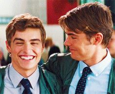 Zac Efron and Dave Franco.