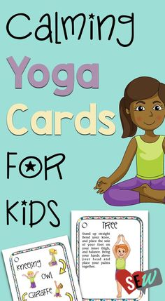 Yoga can be a great coping tool to teach students. You can use it during counseling sessions, in the classroom, or as part of mindful moments. Elementary School Counseling, School Social Work, School Counselor, Elementary Schools, Social Emotional Activities, Counseling Activities, Preschool Activities, Preschool Education, Preschool Learning