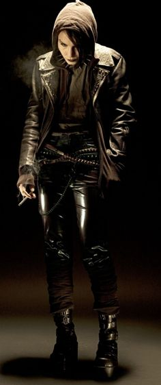 Lisbeth Salander: Punk computer hacker & detective who overcomes the most appalling of odds to exact justice. (The Girl with the Dragon Tattoo, 2009, Niels Arden Oplev. Portrayed by Noomi Rapace).