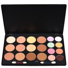 Aenmil Face Makeup Palette 20 Colors Professional Salon Party Concealer Contour ** Click image to review more details.