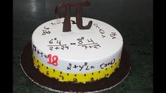 How to make a Cake for Math's teacher easy step by step - cake design