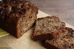 Banana bread - awesome taste (especially with a glass of milk), very easy to make