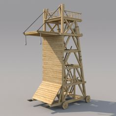 Siege tower.