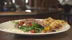 Jac and Shaz's Chargrilled Lamb with Roasted Vegetable