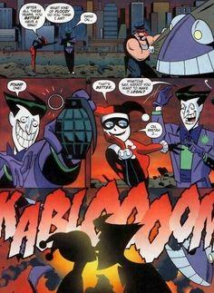 Joker and Harley Quinn. :) I love them so much..