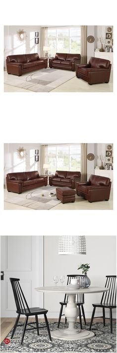 Premium items for your home, kitchen, bath and office Small Apartment Living Room, Living Room Decor Apartment, Dark Furniture Living Room, Home And Living, Living Room Designs, Living Room Leather, Living Room Remodel, Dining Room Small, Leather Couches Living Room