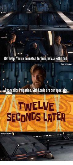 Over-confident Obi.