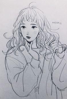 Art Manga, Art Anime, Pretty Art, Cute Art, Art Inspo, Bel Art, Art Du Croquis, Arte Fashion, Art Mignon