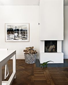 Charlotte Minty Interior Design: Fireplaces On My Mind #living room #fireplace