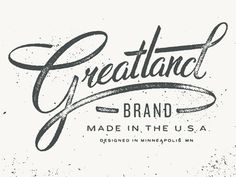 Feels like forever since I posted anything. This logotype was for a limited edition American made apparel line @ Target. Flannels, wool socks and other such garments that will make you sweat like a...