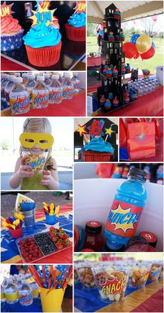 Wonder Woman Superhero Party